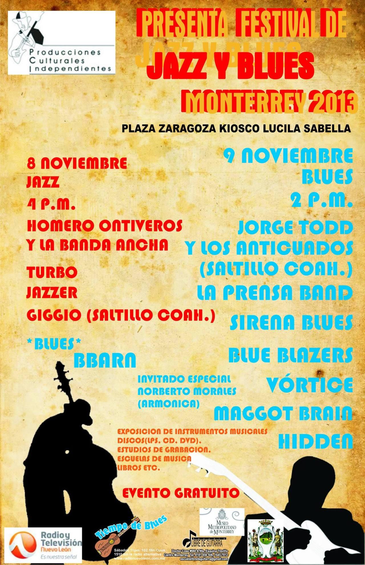 Sirena Blues - Festival de Blues y Jazz Monterrey 2013